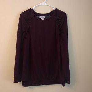Motherhood long sleeve fashion sweatshirt